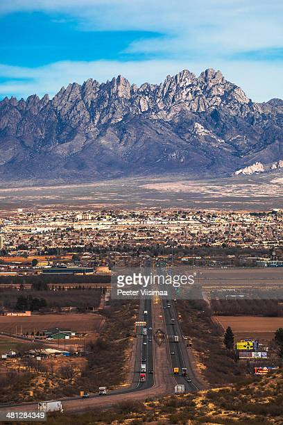 new mexico landscape. - las cruces new mexico stock pictures, royalty-free photos & images