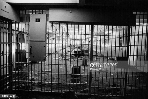 New Mexico State Penitentiary Cellblock Credit Denver Post