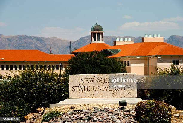 new mexico state university main campus in las cruces - las cruces new mexico stock pictures, royalty-free photos & images
