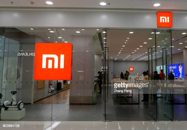 New MI shop in a shopping mall. In Jan.13th there will be 300 MI shops in China. 2017, the sales of MI mobile phones resumed to reverse the decline....