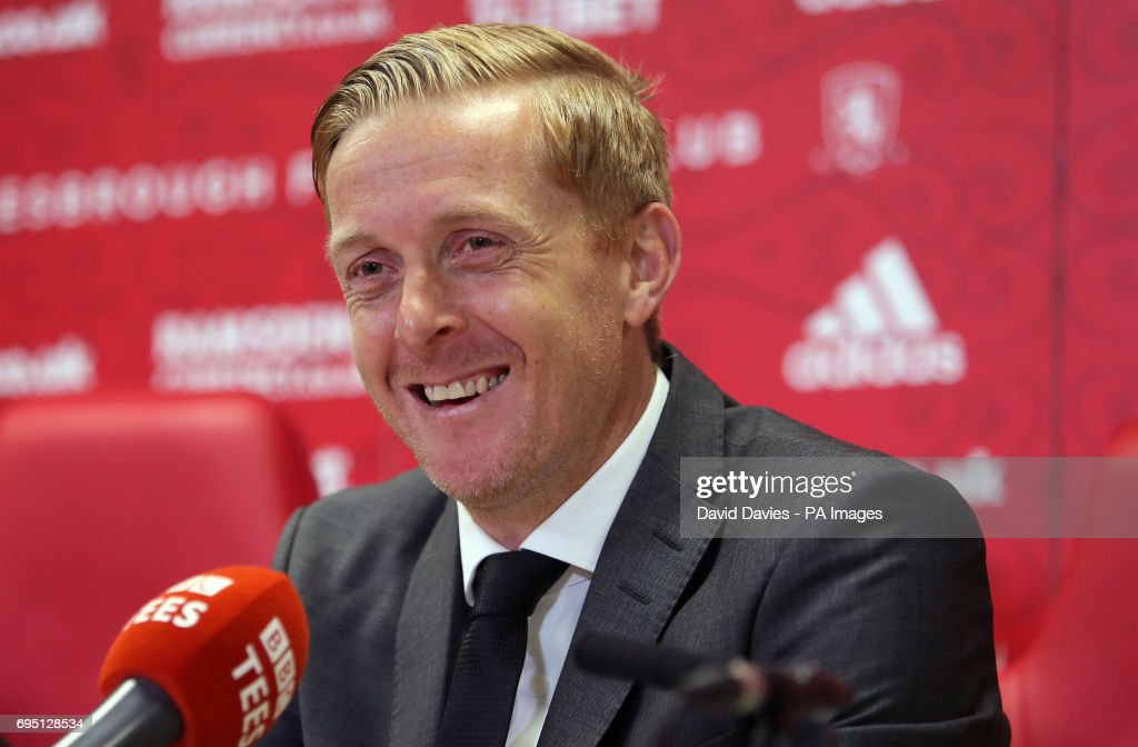 Middlesbrough Press Conference : News Photo