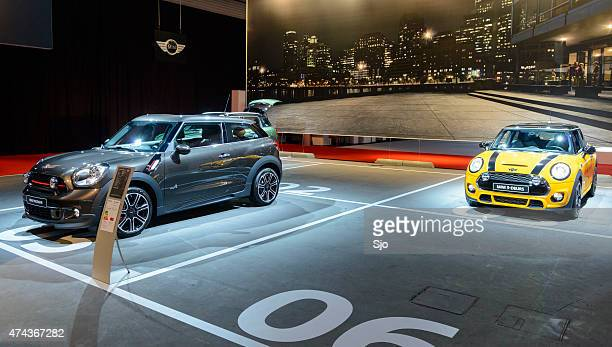 New Mini and Mini Paceman compact crossover SUV