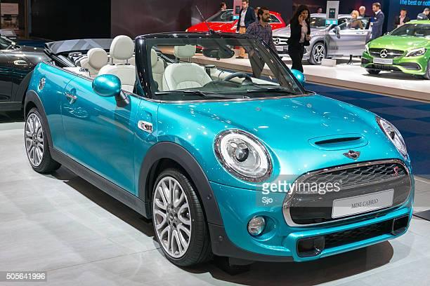Neue Mini Cabrio kompakte Cabrio Auto
