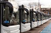 New modern busses on LPG