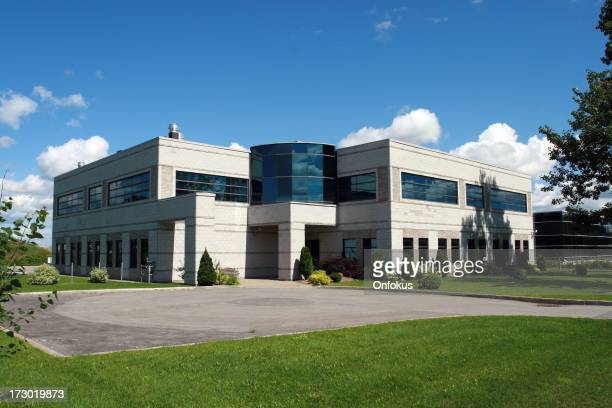 New Modern Industrial or Commercial Building