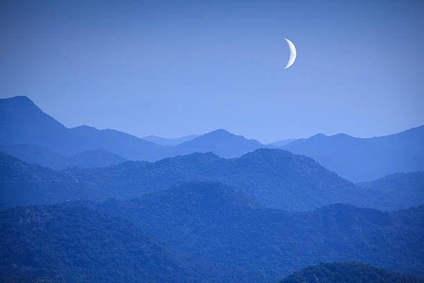 New Moon In The Montenegro Mountains Wall Art