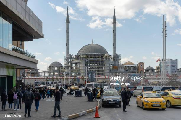 New mosque in Taksim Square.