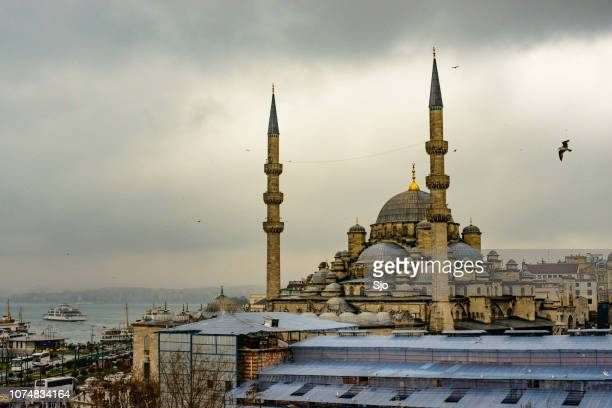 New Mosque or Yeni Cami in Istanbul Turkey