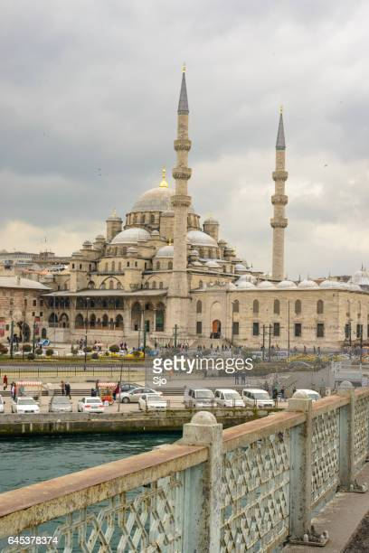"new mosque or yeni cami in istanbul turkey - ""sjoerd van der wal"" or ""sjo"" stock pictures, royalty-free photos & images"