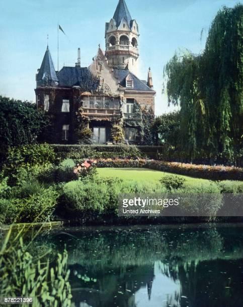 New museum at botanic garden of Nordhausen Thuringia 1920s