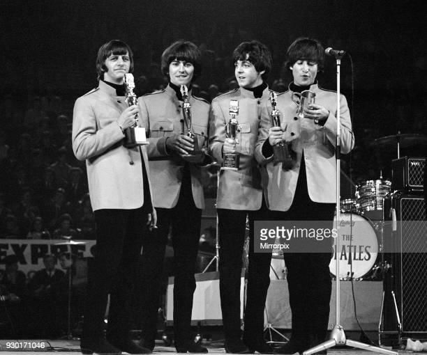 New Musical Express pop concert at Empire Pool Wembley 11th April 1965 The annual IPC New Musical Express concert featured poll winners guest artists...