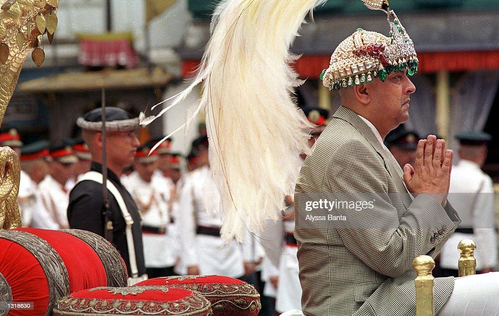 New Nepalese King Gyanendra Crowned : ニュース写真