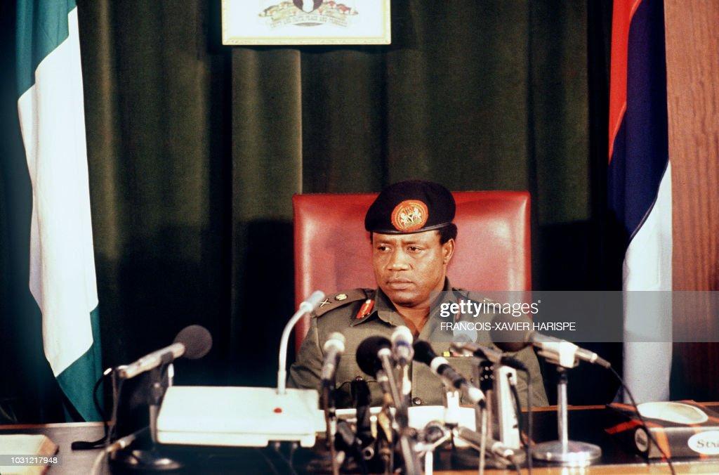 POLITICS-GOVERNMENT-BABANGIDA : News Photo