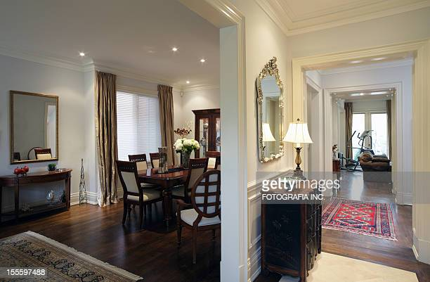 new north american home - architectural cornice stock photos and pictures