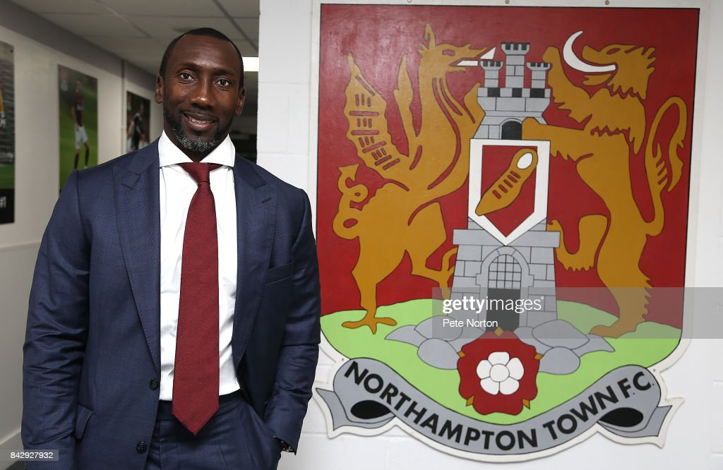 Northampton Town Unveil New Manager Jimmy Floyd Hasselbaink