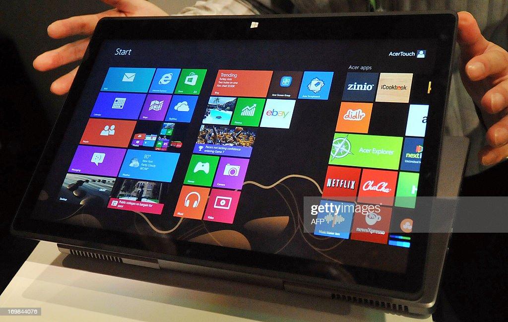 TAIWAN-IT-TECHNOLOGY-SHOW : News Photo