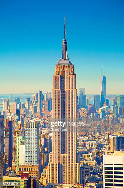 new of city. - empire state building stock pictures, royalty-free photos & images