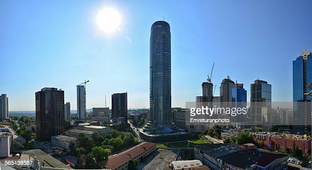 new office buildings in maslak,istanbul. - emreturanphoto stock-fotos und bilder