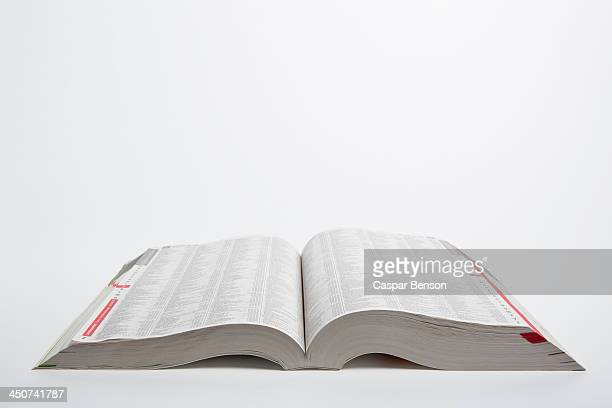 A new open white pages telephone book
