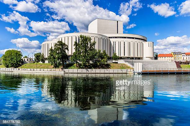 new opera building in bydgoszcz, poland - bydgoszcz stock pictures, royalty-free photos & images