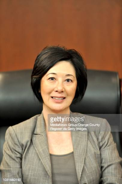 New Orange County Supervisors Lisa Bartlett fifth district on Tuesday in Santa Ana ///ADDITIONAL INFORMATION Slug doswearingin0204jag Day Tuesday...
