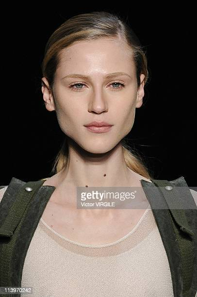 New Order Fashion Rio Inverno 2011 in Rio De Janeiro Brazil on January 15 2011A model walks the runway during the New Order Ready to Wear Fall/Winter...