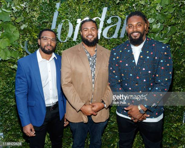 New Orlean Saints Cameron Jordan and guests attend the 2015 Jordan Cabernet Release Day Party on May 01 2019 in Los Angeles California