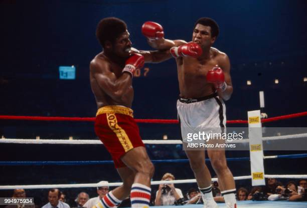 Leon Spinks Muhammad Ali boxing at the Superdome in New Orleans LA
