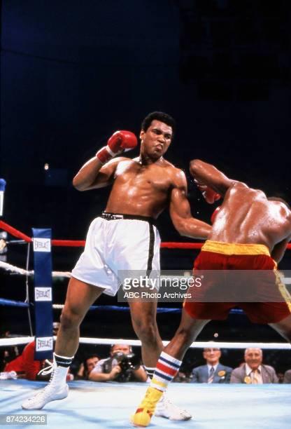 Muhammad Ali Leon Spinks boxing at Superdome September 15 1978