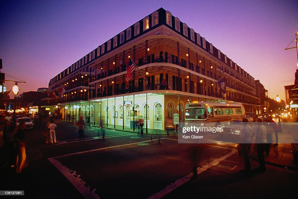URBPE094 New Orleans at sunset, LA : Stock Photo