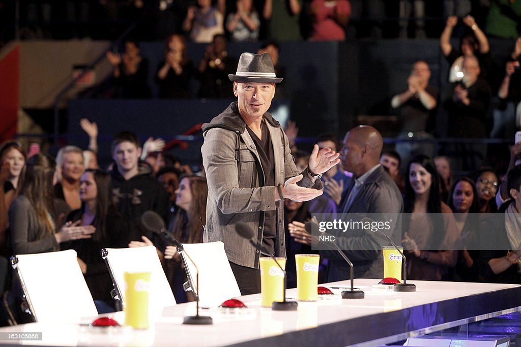 S GOT TALENT -- New Orleans Auditions -- Pictured: Howie Mandel --