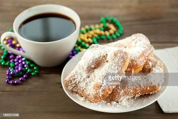 ニューオーリンズのベニエ(ニューオーリンズ名物のドーナツ
