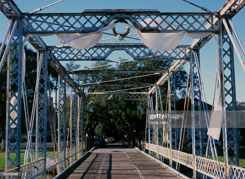 New Orleans Bridge With Wedding Decorations Stock Photo Getty Images