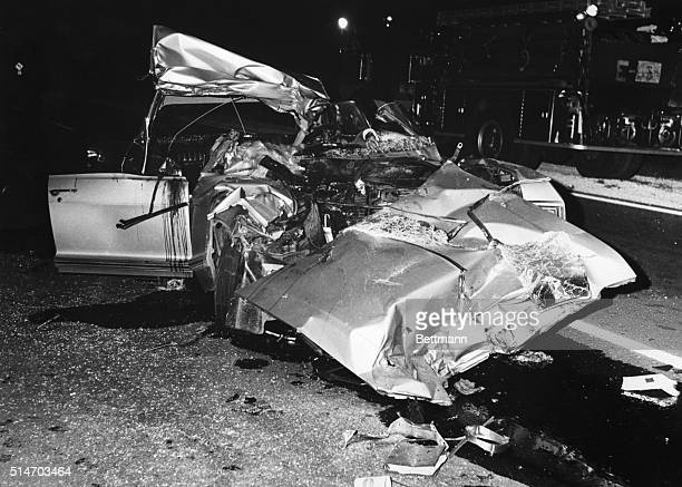 Car in which actress Jayne Mansfield crashed to her death June 29 is nothing but twisted metal The 34yearold sex symbol her chauffeur Bonnie Harrison...