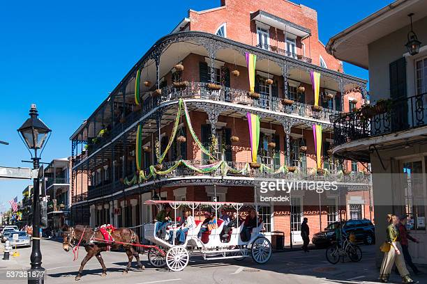 new orleans, french quarter - new orleans french quarter stock photos and pictures