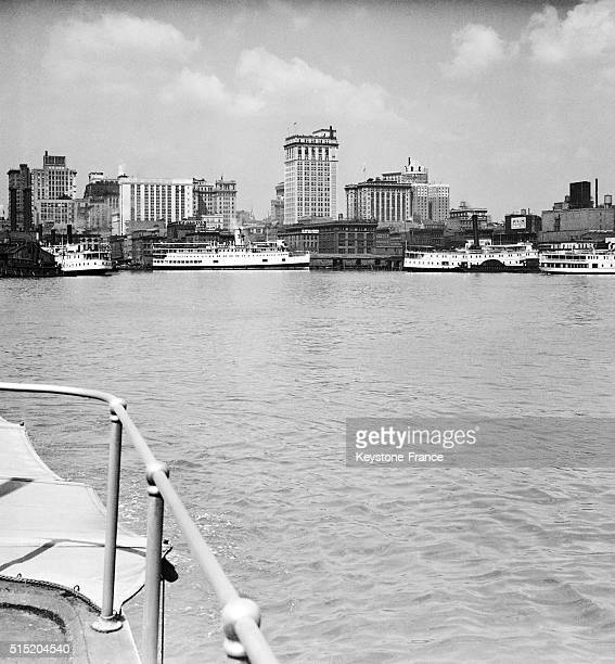 New Orleans' Harbour in Louisiana circa 1930