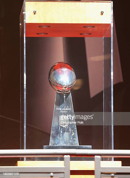 New Orleans LA As the Official Delivery Service Sponsor of the NFL FedEx ensured the safe and ontime delivery of the Vince Lombardi Trophy to the NFL...