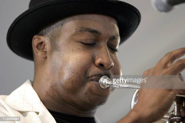 New Orleans Jazz Trumpeter Jamil Sharif at JazzFest