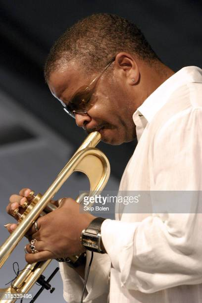 New Orleans Jazz Trumpeter Terence Blanchard at JazzFest