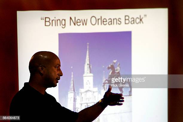 New Orleans La – New Orleans Mayor Ray Nagin annouces the suspension of reopening much of New Orleans citing the threat of Tropical Storm Rita...