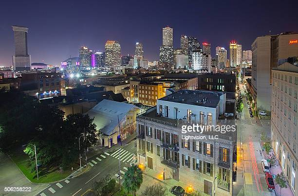 New Orleans, Louisiana Downtown Skyline