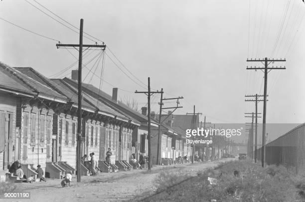 New Orleans Negro street Louisiana
