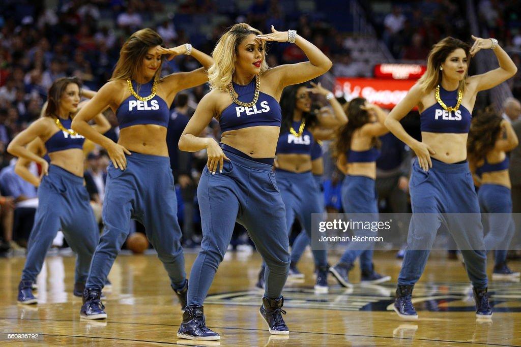 Pelicans Cheerleader