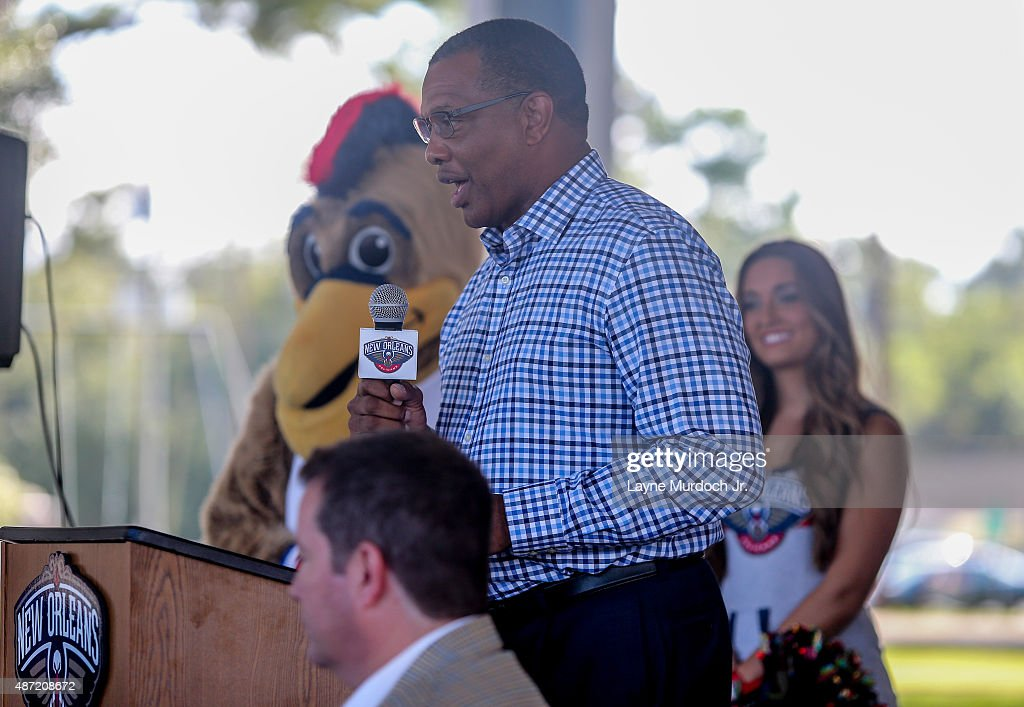 New Orleans Pelicans Head Coach Alvin Gentry And Chevron