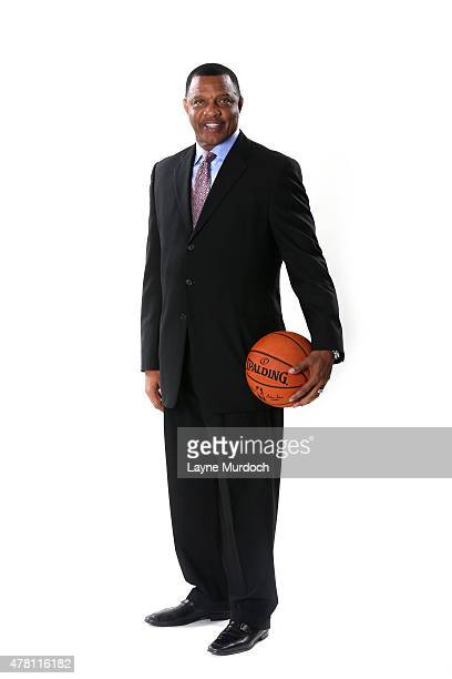New Orleans Pelicans head coach Alvin Gentry poses for a portrait on June 22 2015 at the New Orleans Practice Facility in New Orleans Louisiana NOTE...