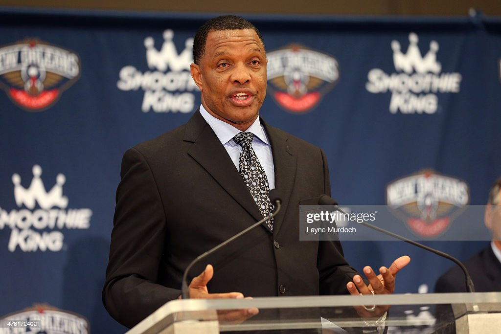New Orleans Pelicans Head Coach Alvin Gentry Speaks To The