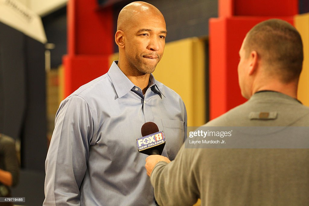 New Orleans Pelicans Head Coach Monty Williams Shows St