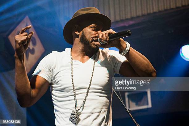 New Orleans rapper Mystikal performs at Tipitina's on June 3 2016 in New Orleans Louisiana
