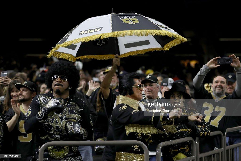 NFC Championship - Los Angeles Rams v New Orleans Saints : News Photo