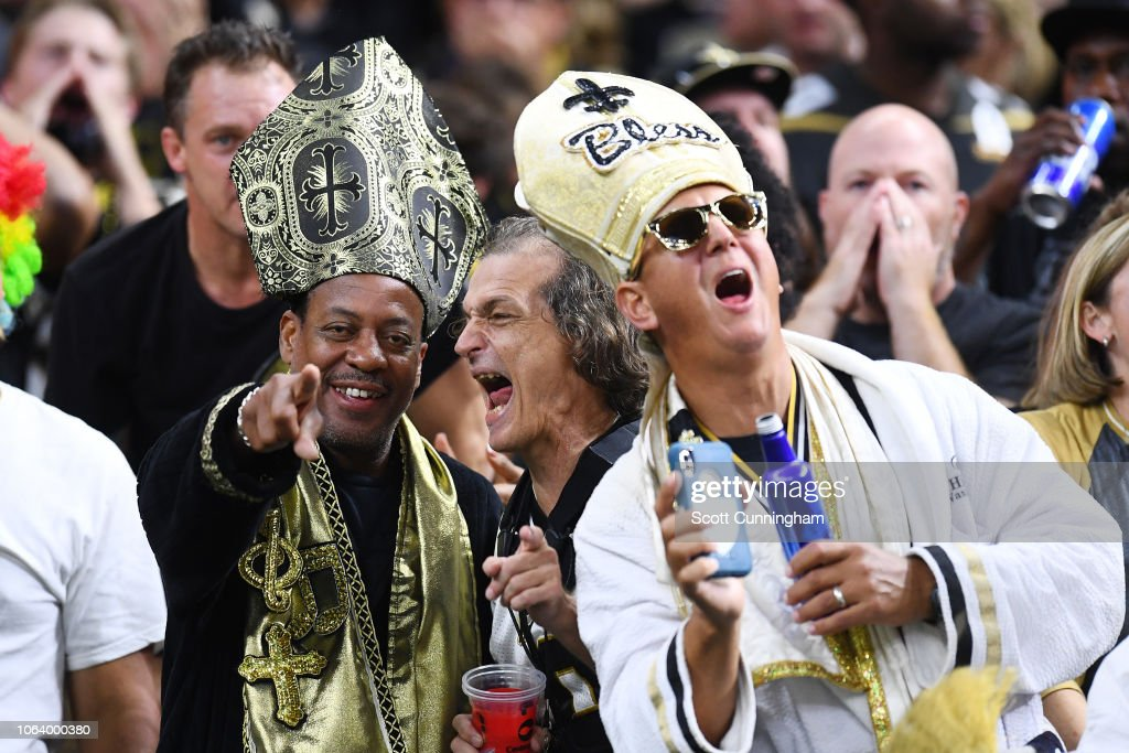Los Angeles Rams v New Orleans Saints : Fotografía de noticias